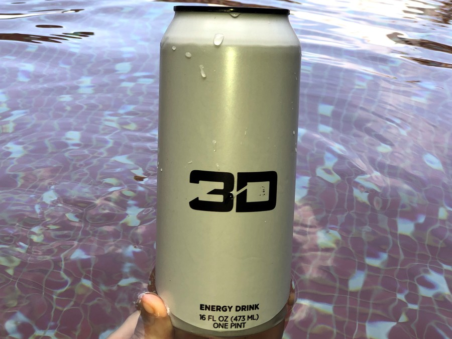 A can of 3D Energy, 16fl.oz