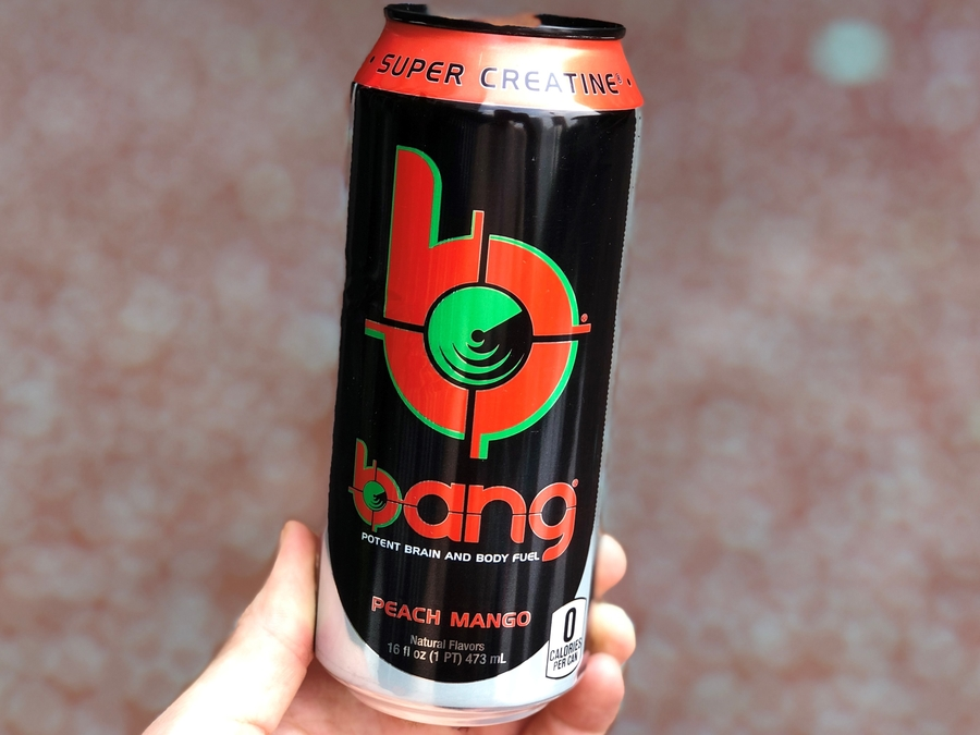 16fl.oz can of Bang Energy Drink/