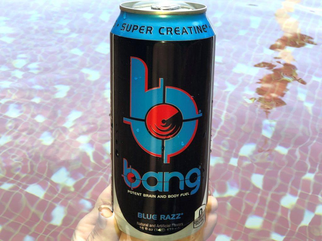 Bang Blue Razz E nergy Drink