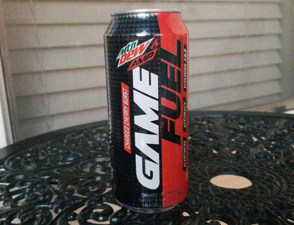 A picture of Mountain Dew AMP Game Fuel Energy Drink
