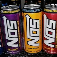 A picture of NOS Energy Drinks