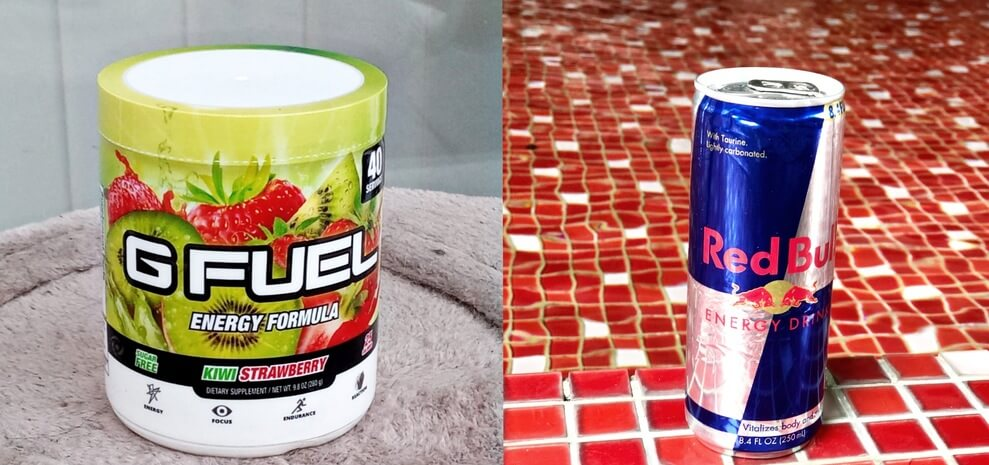 G Fuel VS Red Bull (All The Differences)