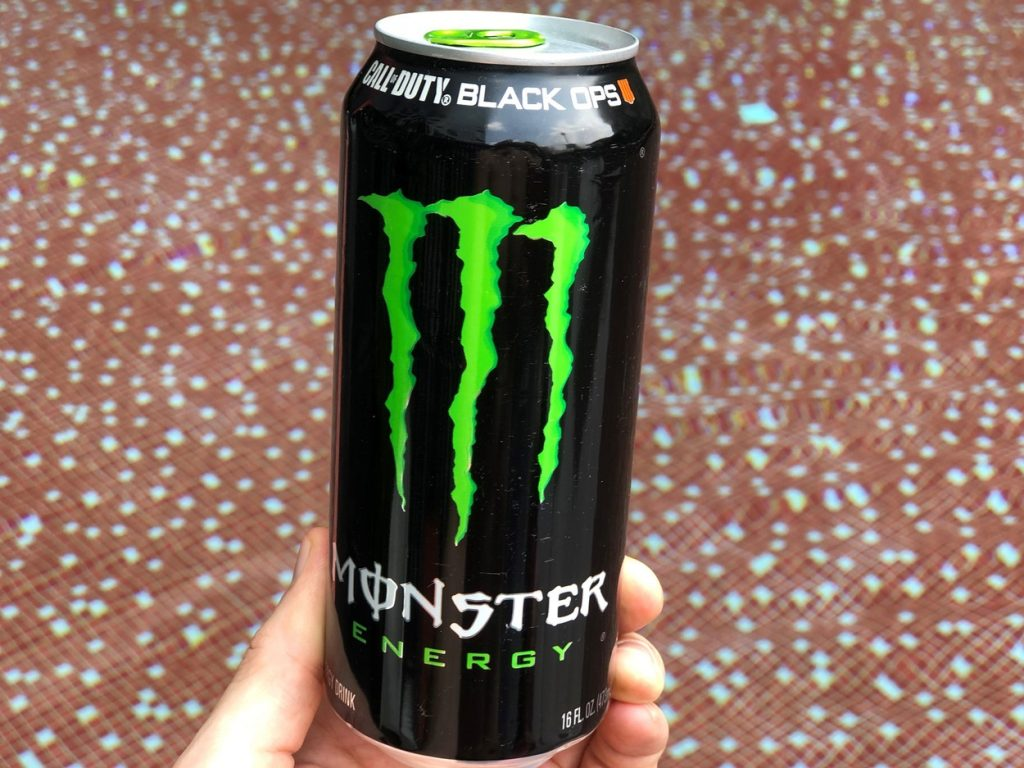 a photo of a can of Monster Energy