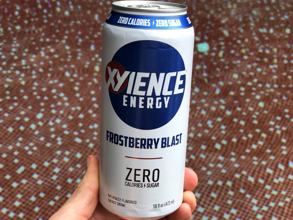 A can of Xyience Energy.