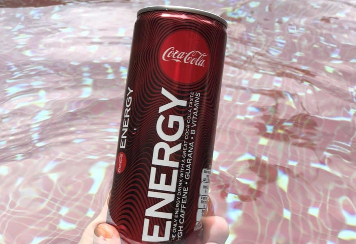 A can of Coca-Cola Energy.