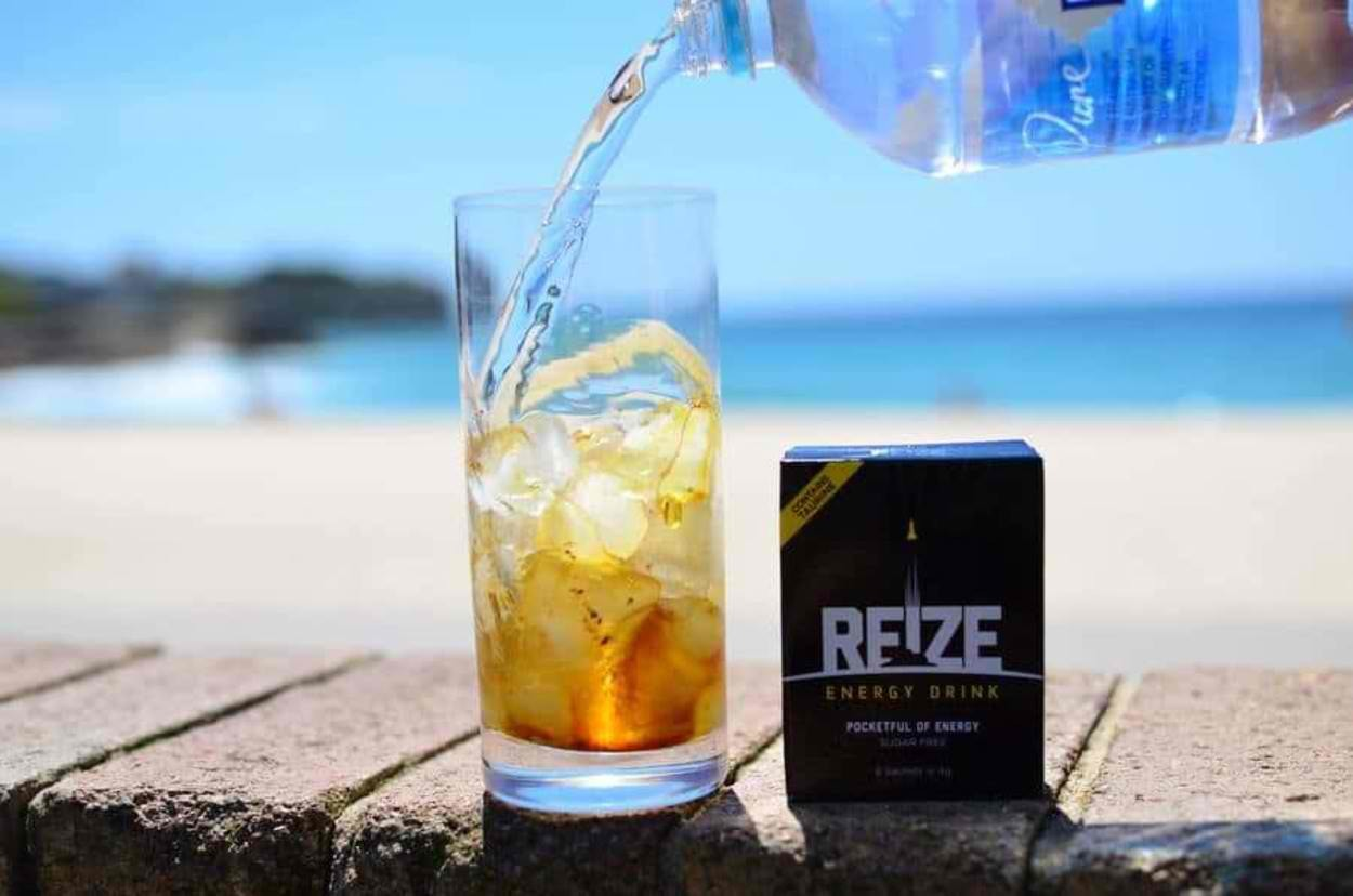 REIZE by the beach.