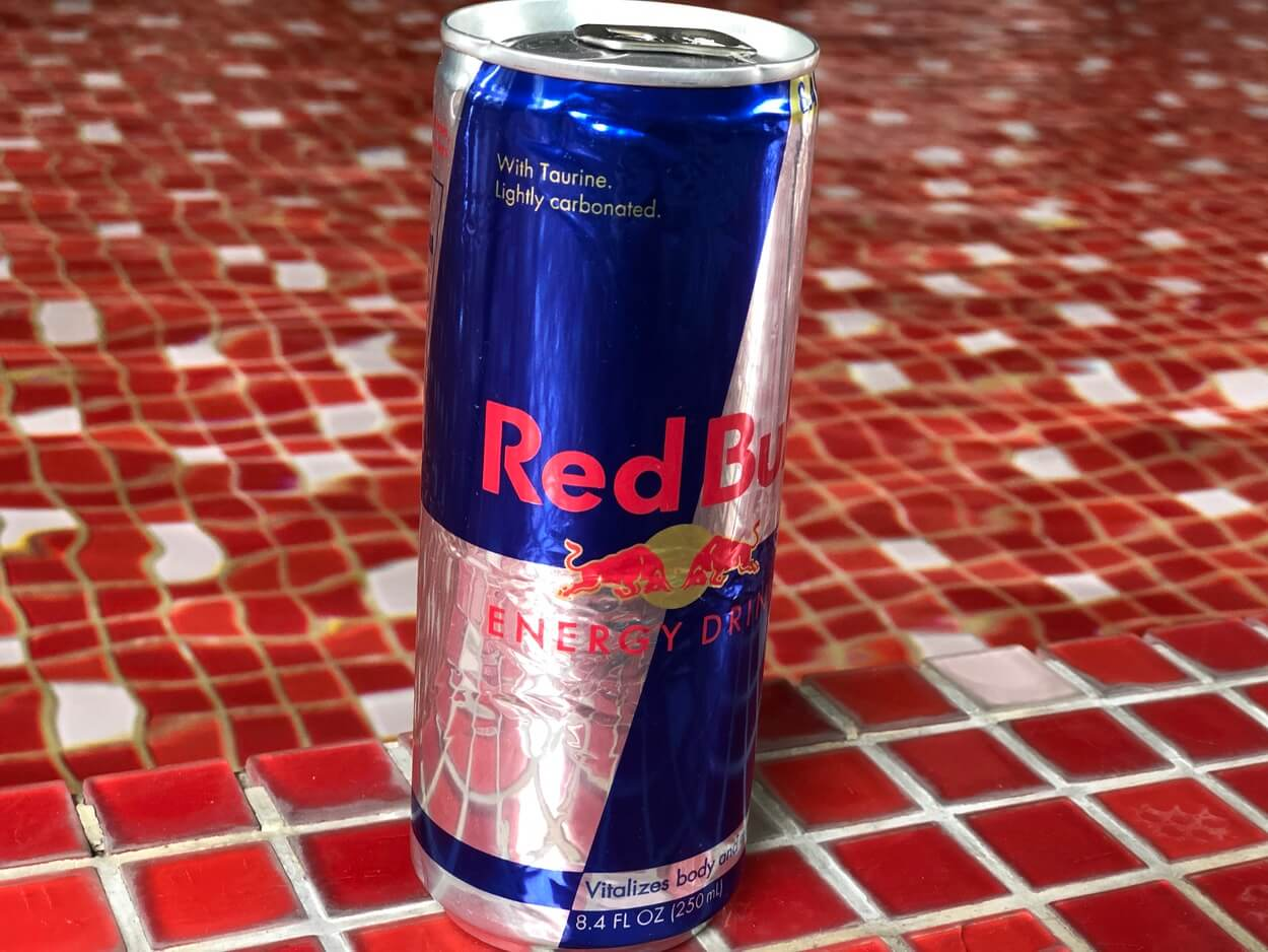 A Red Bull.