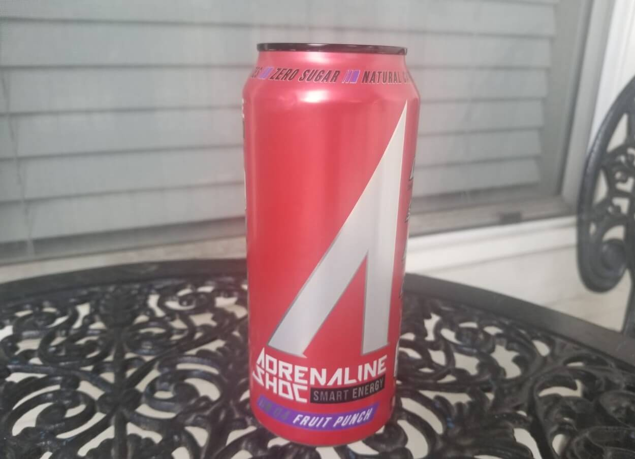 Adrenaline Shoc Energy Nutrition Facts (Analysis)