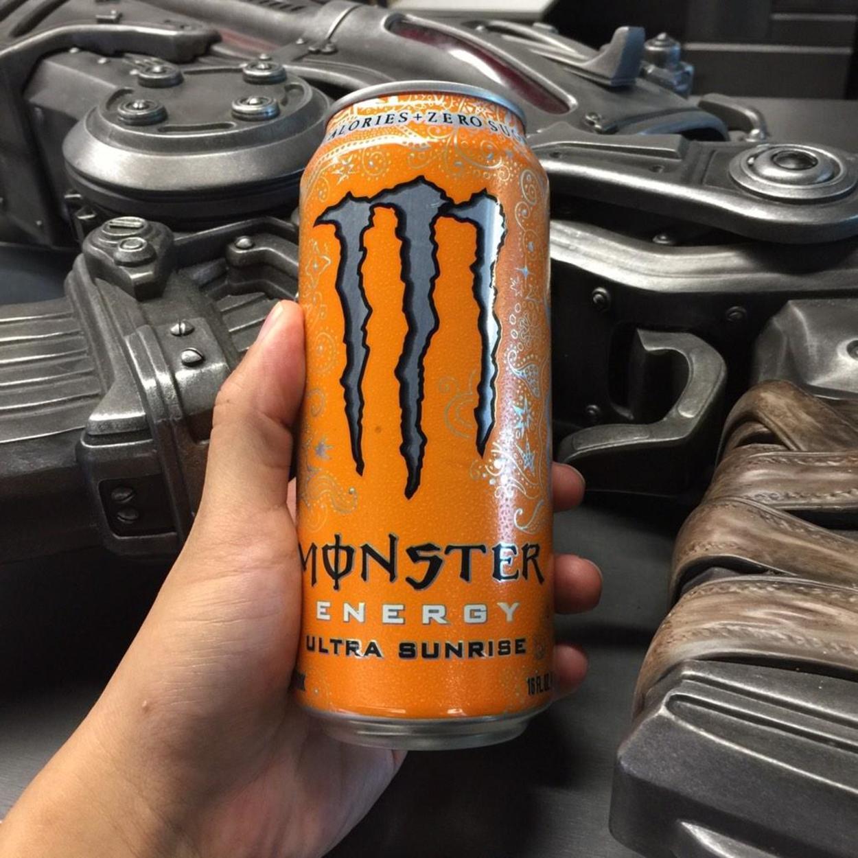 Monster Energy Ultra Sunrise.