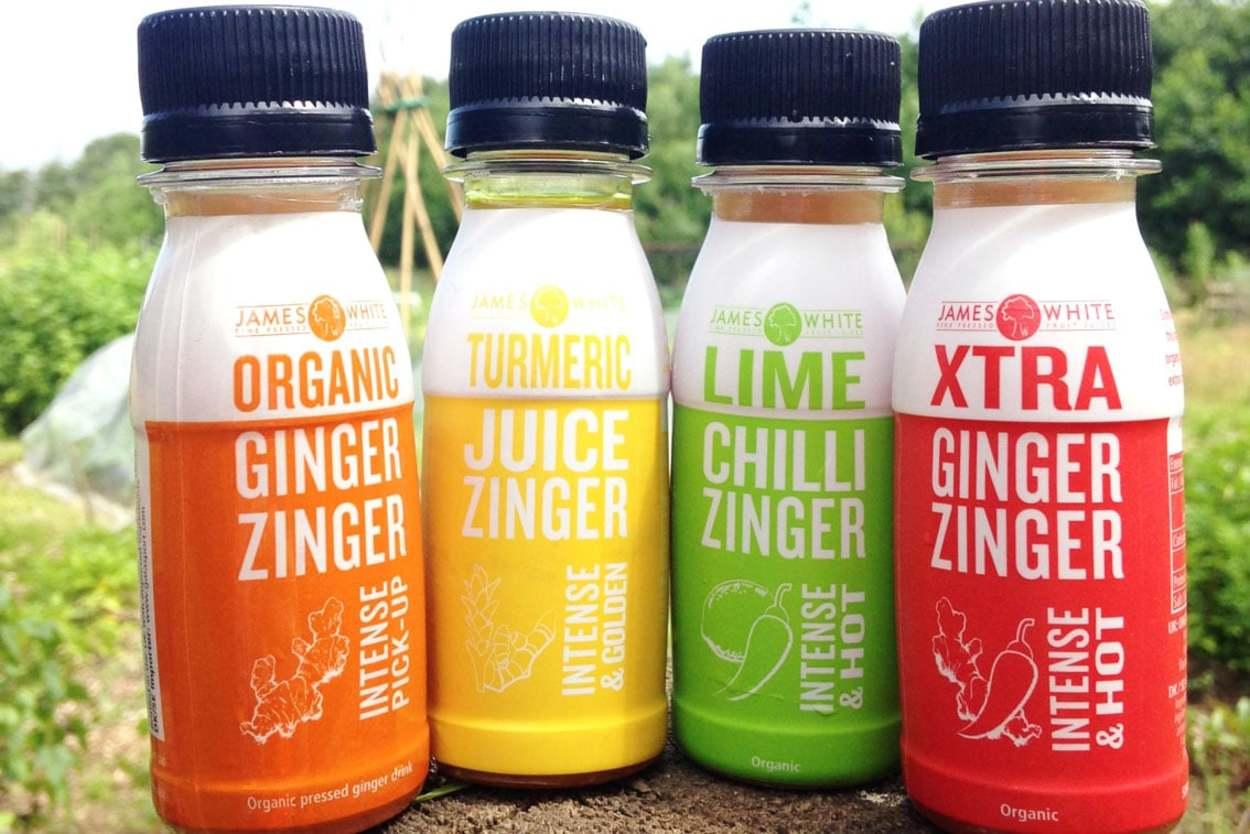 Organic Ginger Zinger Energy Drink.
