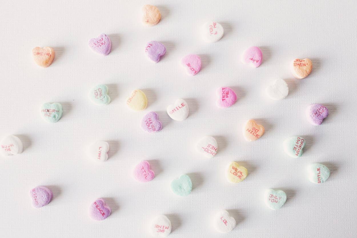 Some candies.