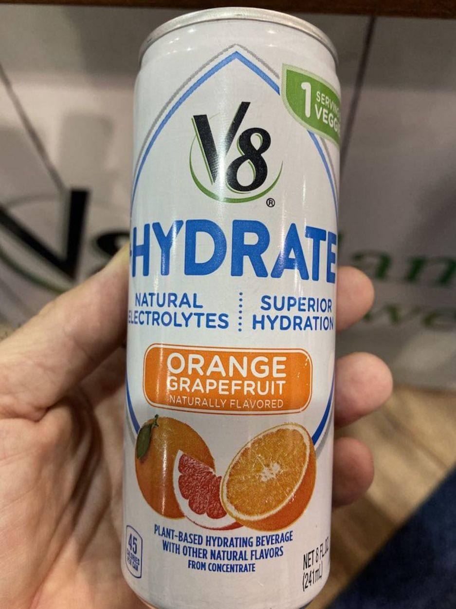 V8 +Hydrate Drink