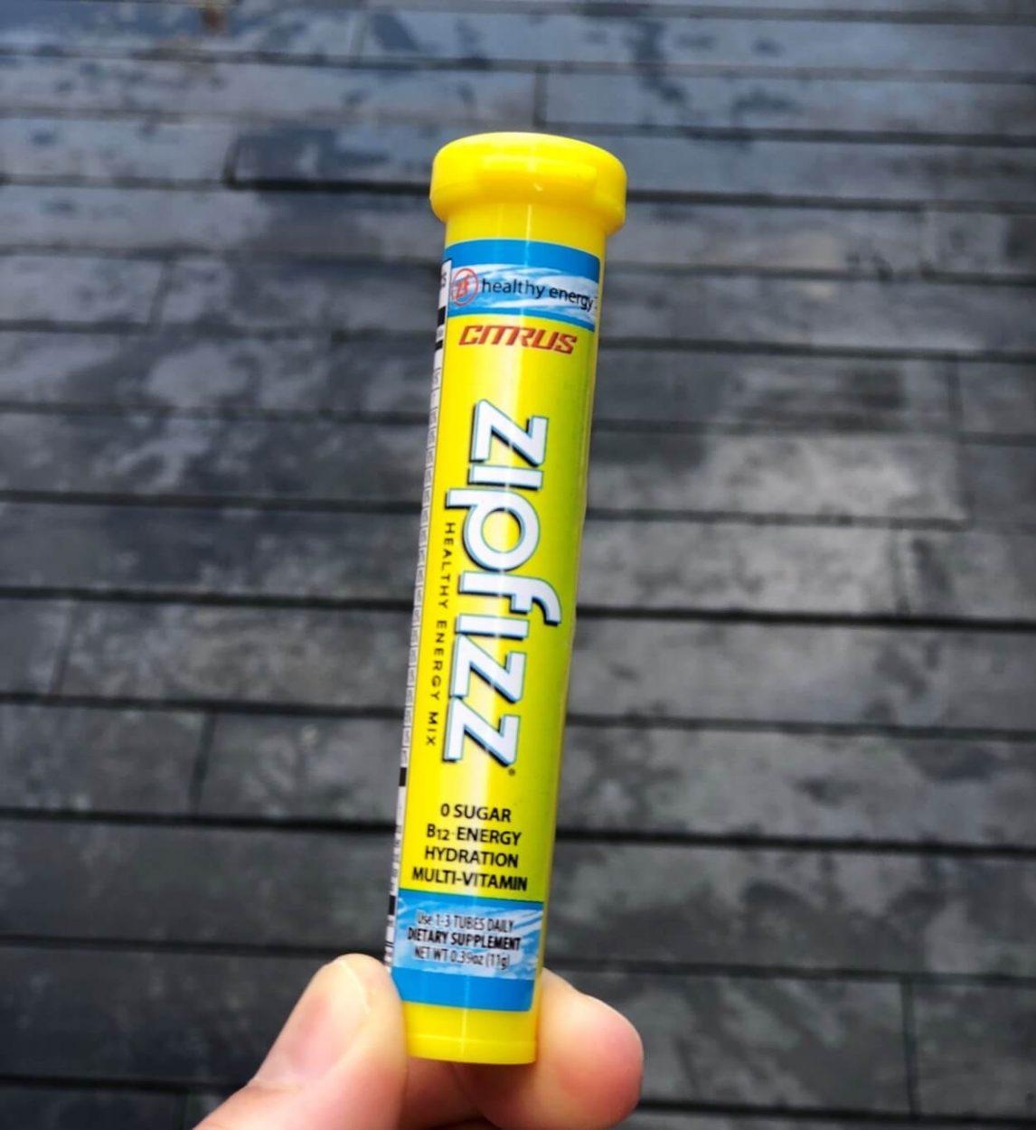 A tube of Zipfizz.