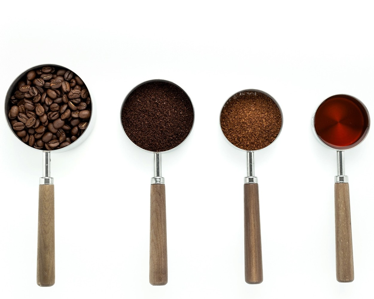 4 coffee roasters in a row.