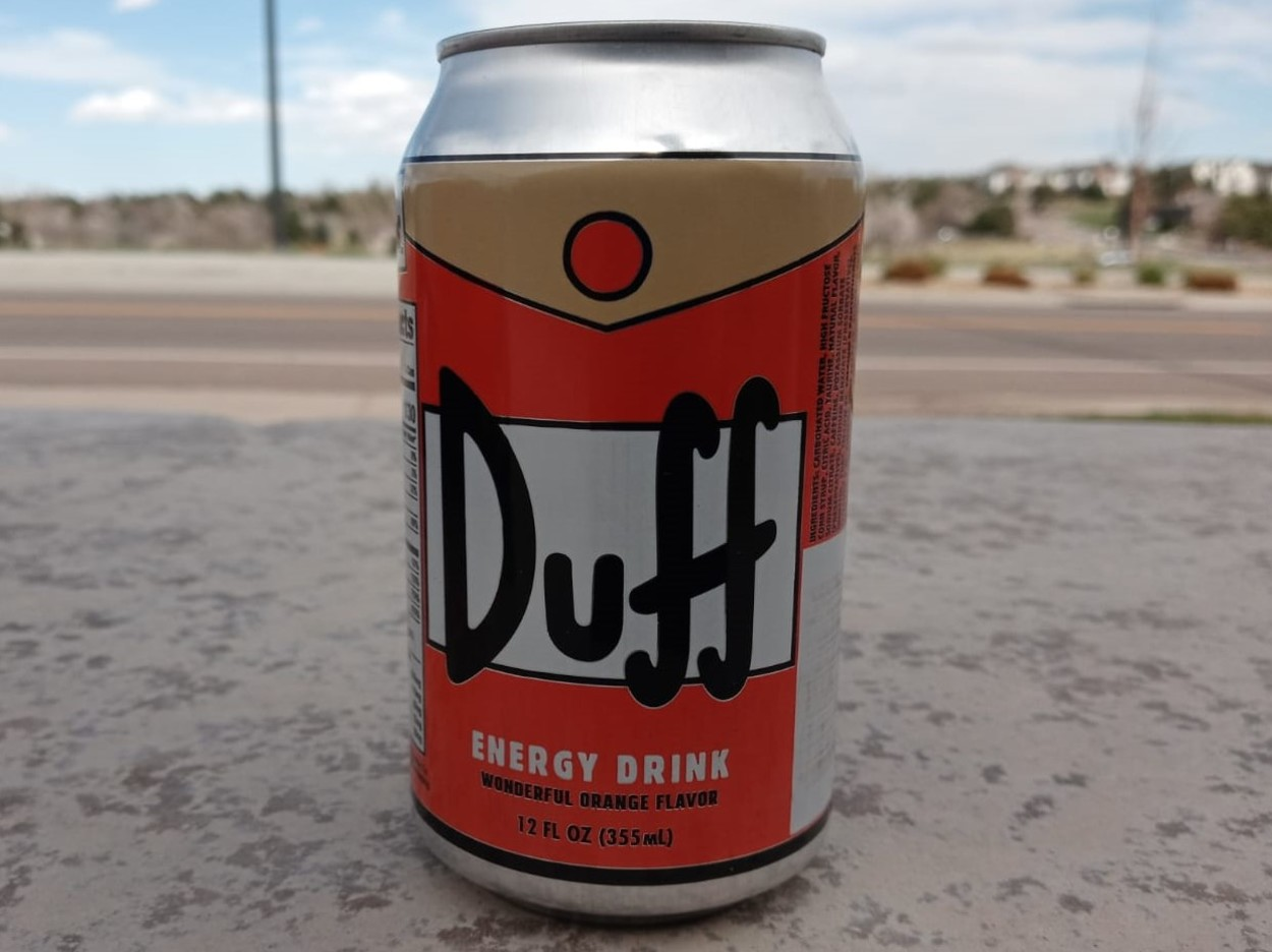 Duff Energy Drink.