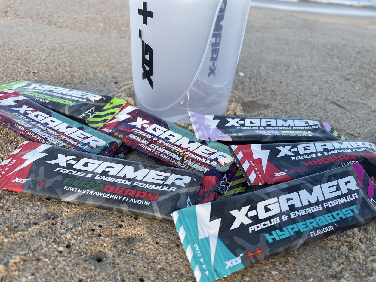 X-Gamer Caffeine and Ingredients (More Info)