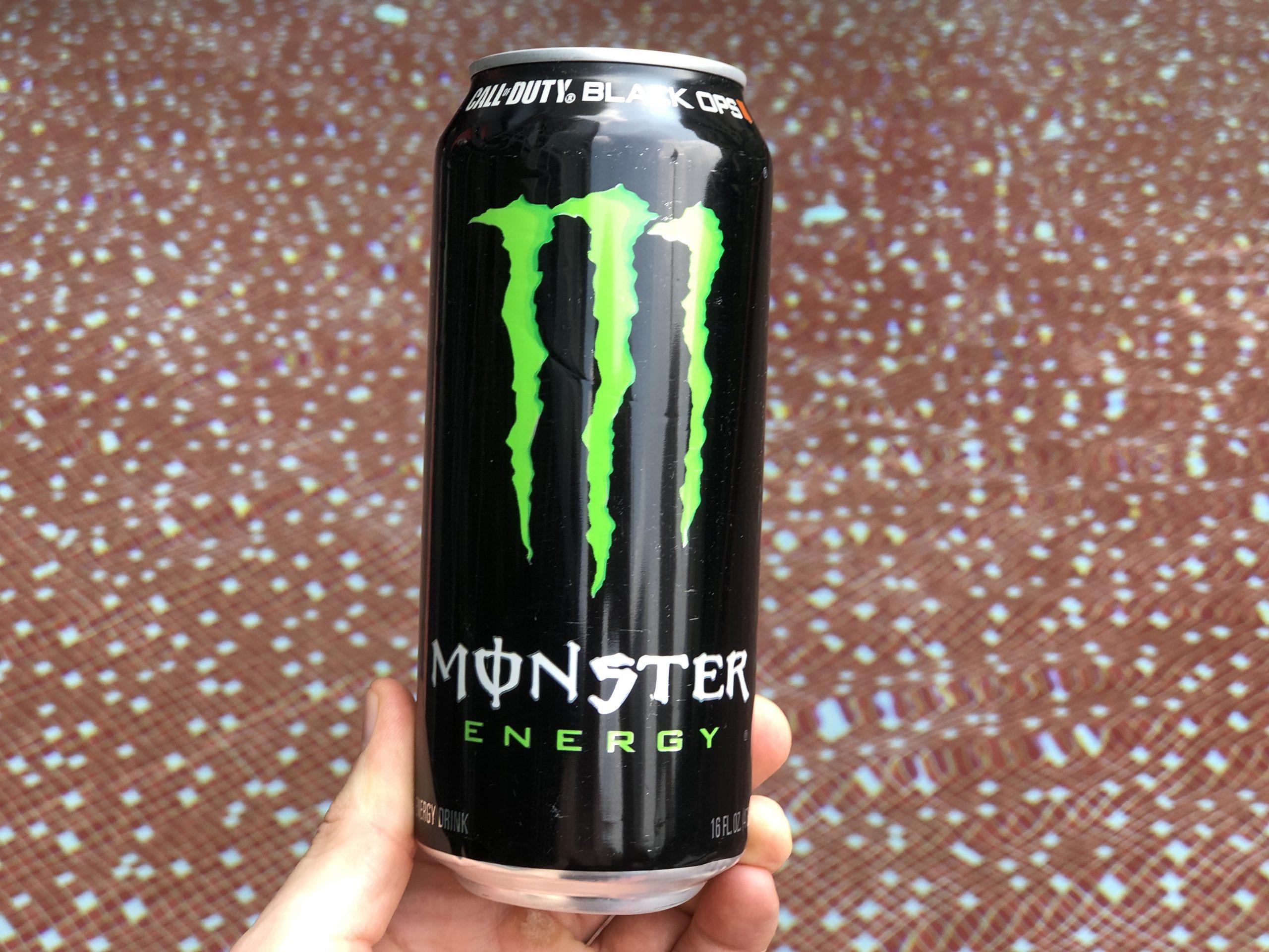 Monster Energy Drink.