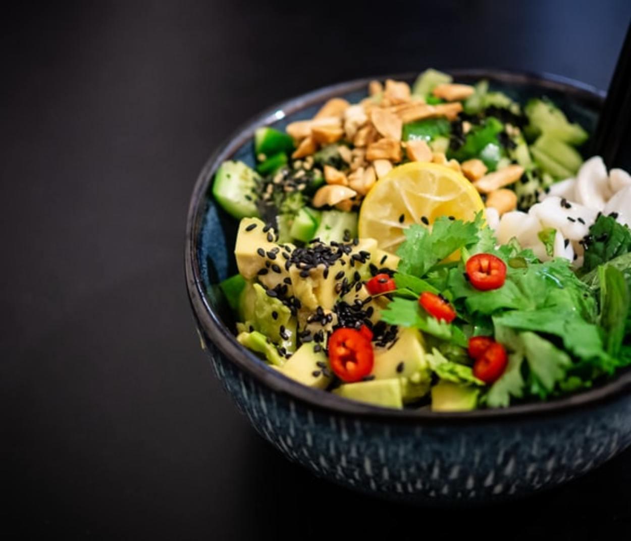 Salad bowl.