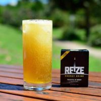 REIZE energy sachet and drink