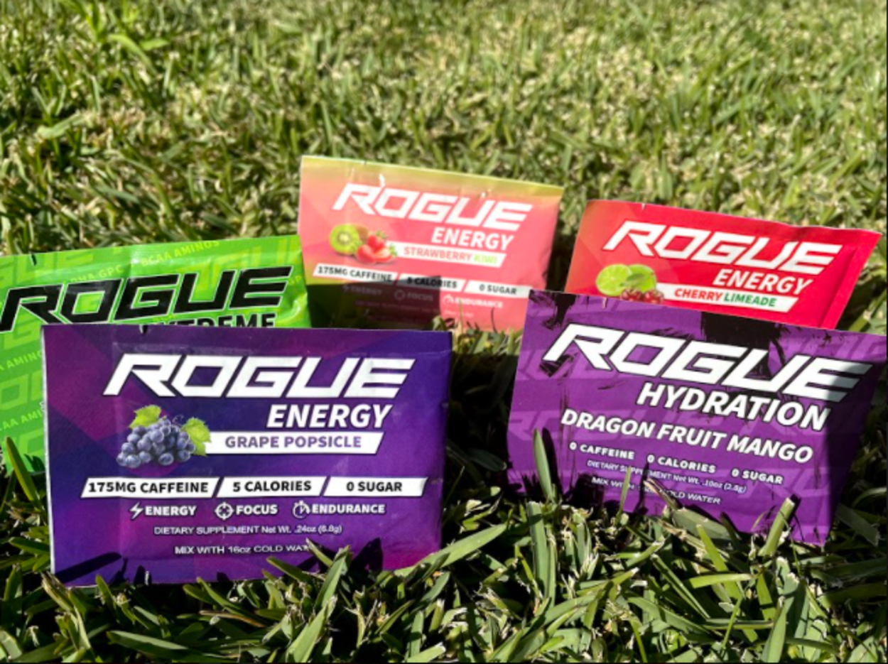 Rogue Energy Caffeine and Ingredients (Deep Dive)