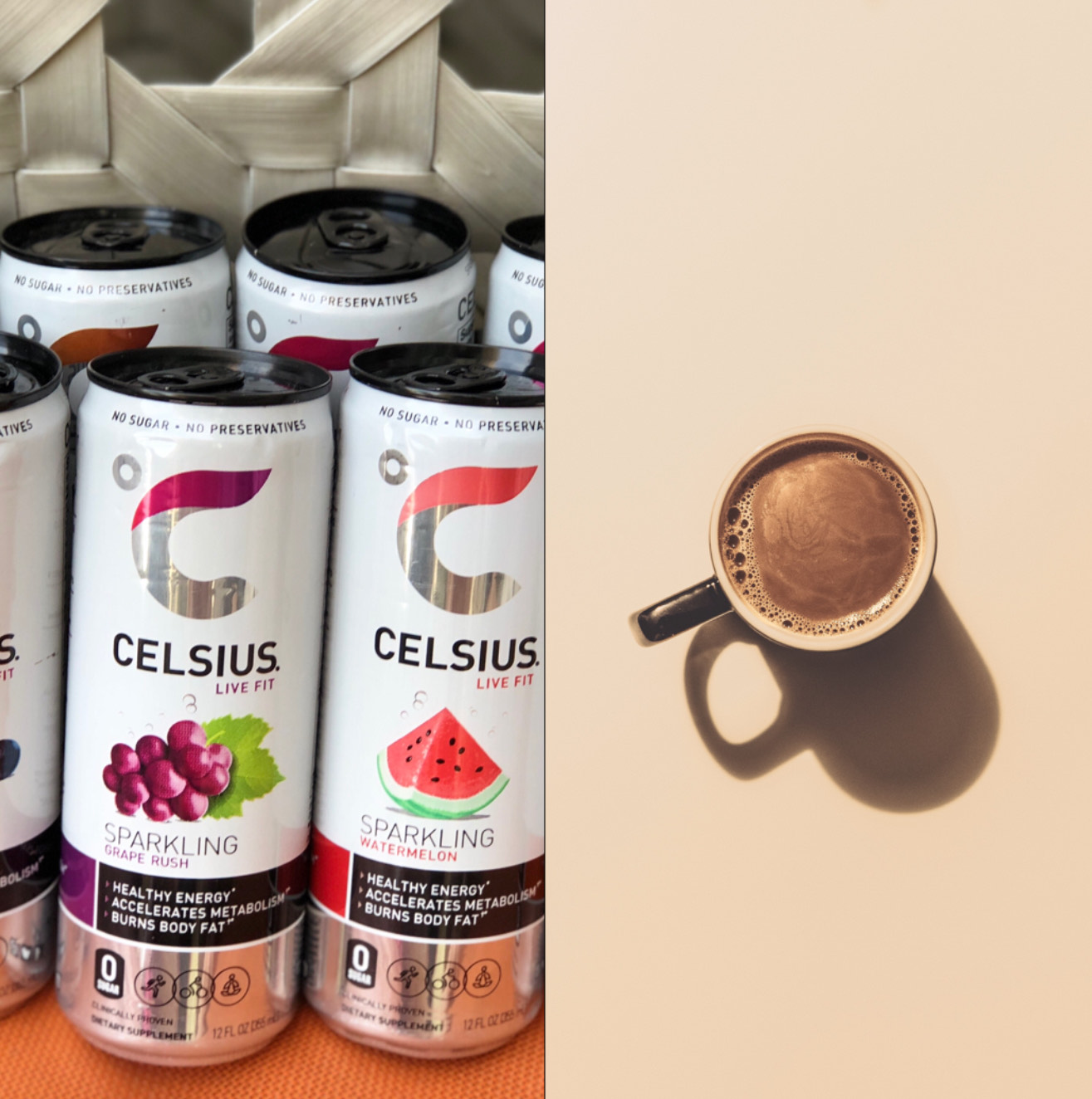 Celsius Vs. Coffee (Moment of Truth)