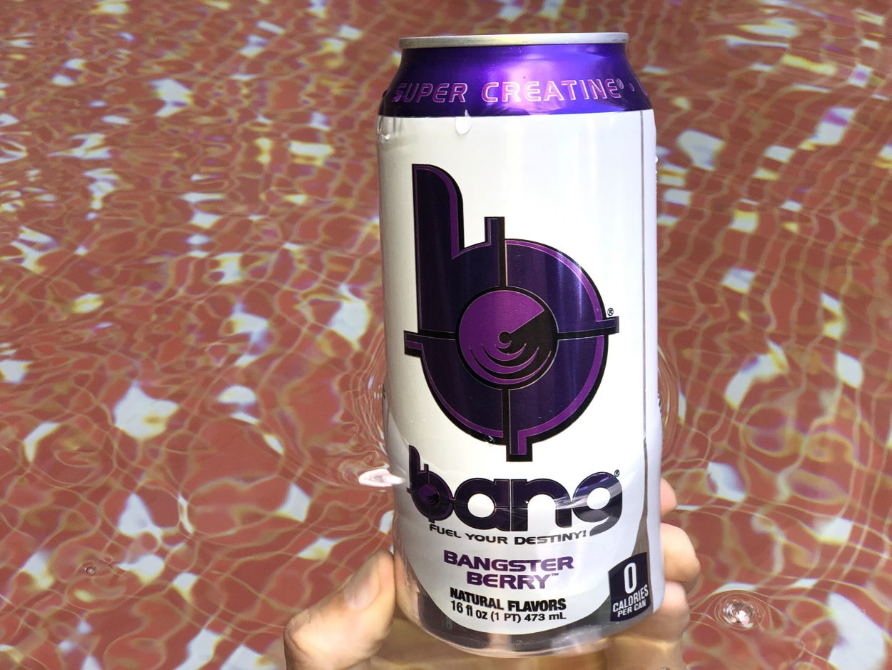 Bang Bangster Berry flavor in can