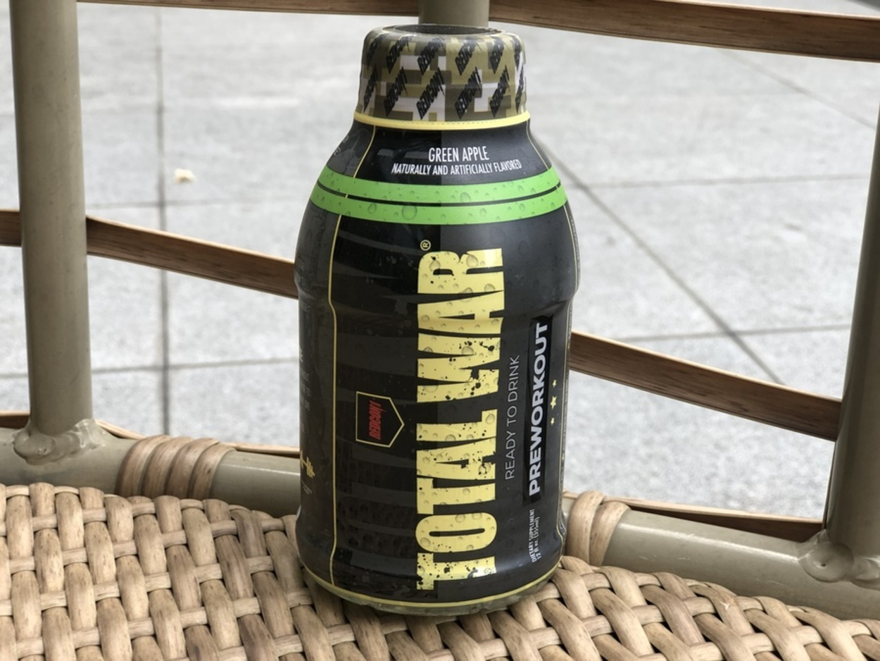 Total Pre Workout Ready-to-drink bottle.