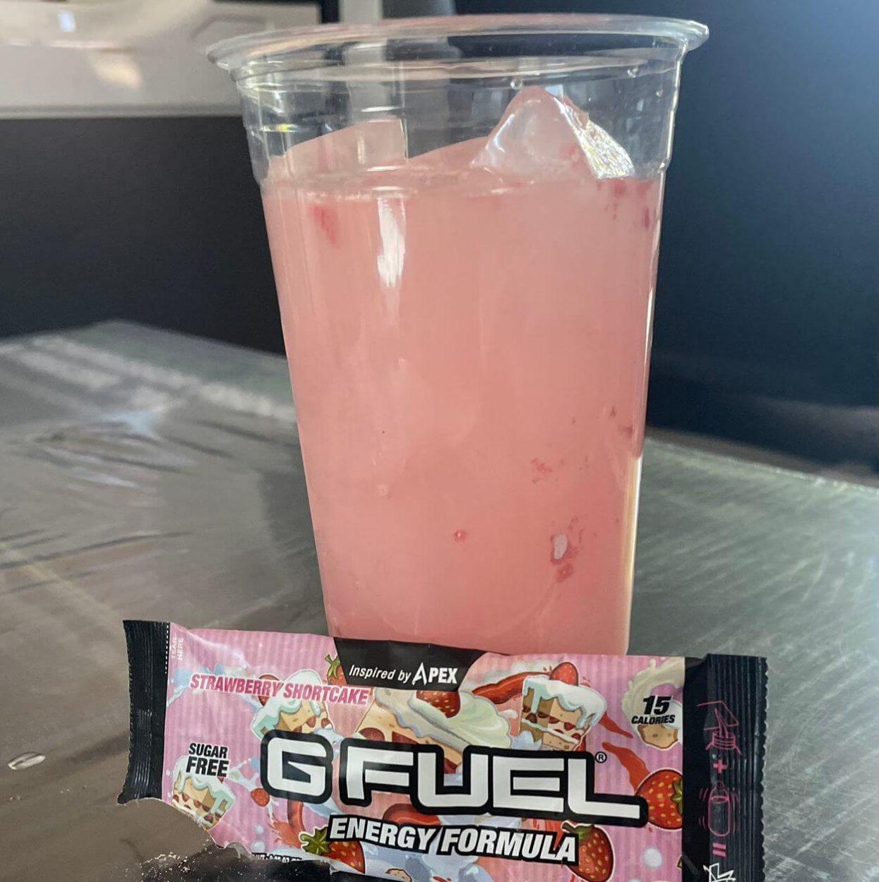Strawberry Shortcake flavored G Fuel